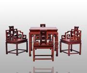 夔凤纹方桌五件套