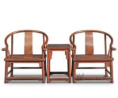 素圈椅三件套