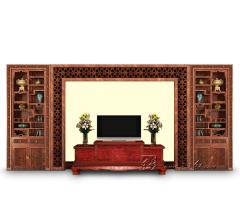 定制版客厅电视背景墙3