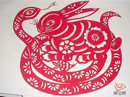 陕西十二生肖文化剪纸(2)