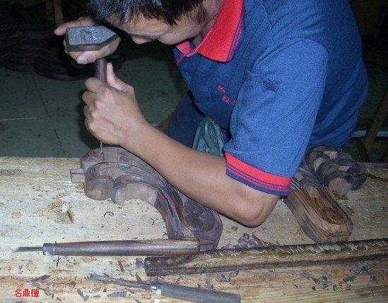 红木传统工艺雕刻