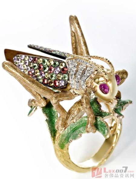 珠宝上的动物世界