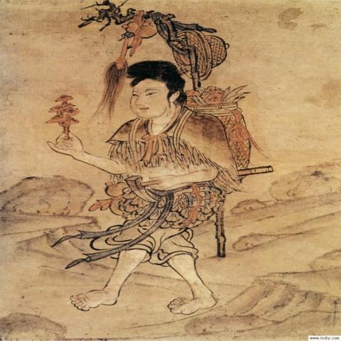 古代人物画(七)