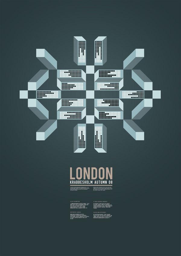 丹麦经典视觉海报设计欣赏