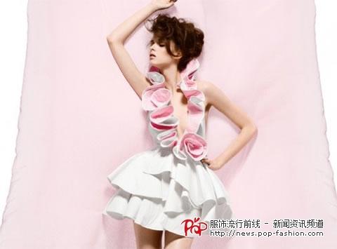 用纸做环保裙子的步骤图片