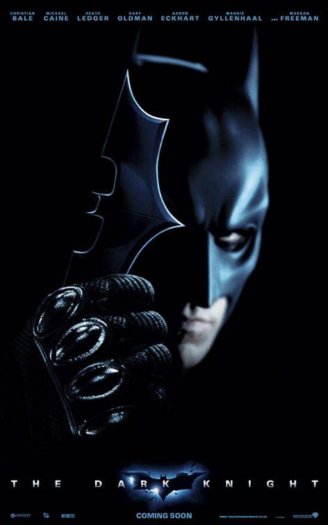 电影《蝙蝠侠:黑暗骑士》海报欣赏