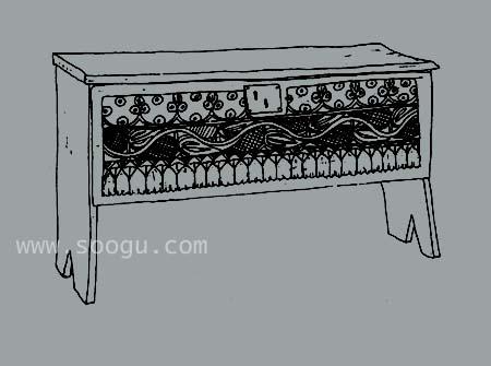 中世纪早期和哥特式家具