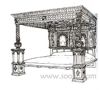 文艺复兴时期的家具(二)