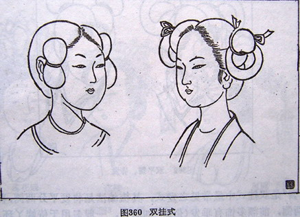 古装婚服手绘图