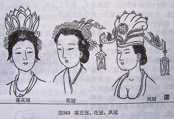 宋朝美女手绘图