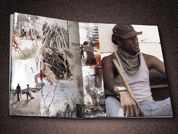 国外服装企业画册设计作品