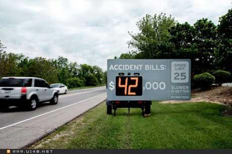 公路安全创意海报_海报设计欣赏_连天红(福建)家具