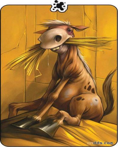 国外可爱动物漫画欣赏(2)