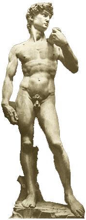 艺术欣赏 雕塑 > 正文     大卫是圣经中的少年英雄,曾经