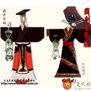 古代衣服花纹动画