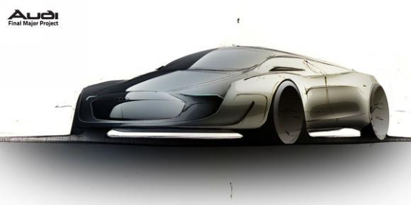 英国汽车设计师amar vaya:奥迪axiom(2)