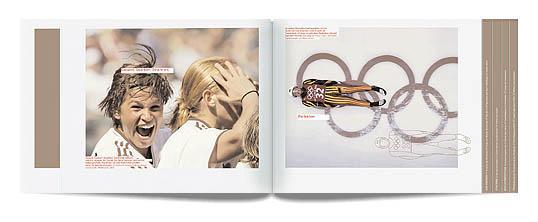 阿迪达斯 adidas 画册设计