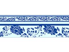 青花瓷之牡丹纹