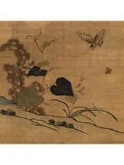 缂丝花卉图册—86.3