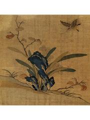 缂丝花卉图册—86.5