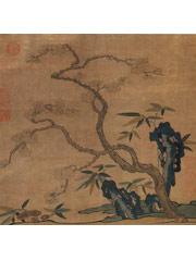 缂丝花卉图册—86.7