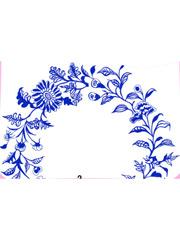 青花瓷之折枝花卉纹