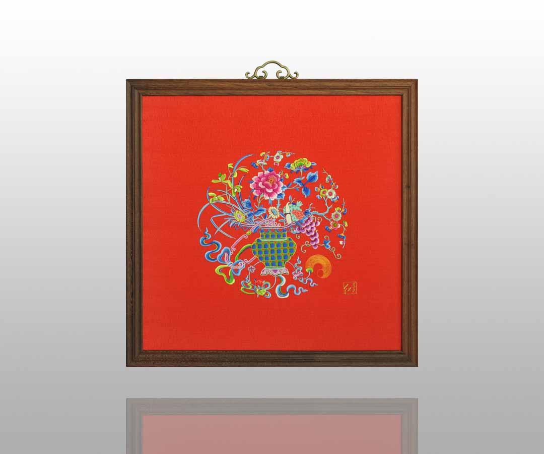 古朴典雅的刺绣挂屏    13 - h_x_y_123456 - 何晓昱的文化艺术博客