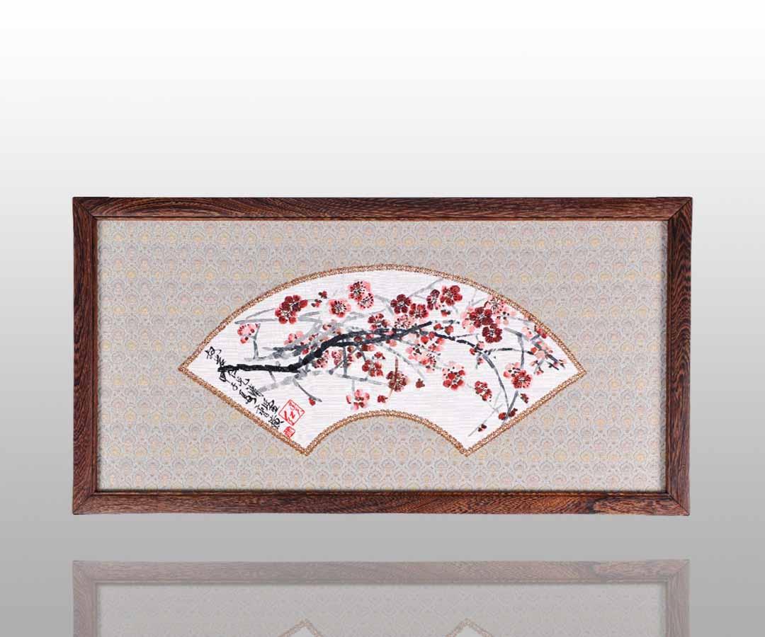 古朴典雅的刺绣挂屏    30 - h_x_y_123456 - 何晓昱的文化艺术博客