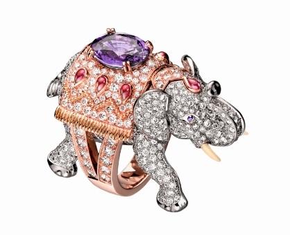 宝诗龙新款动物造型珠宝系列