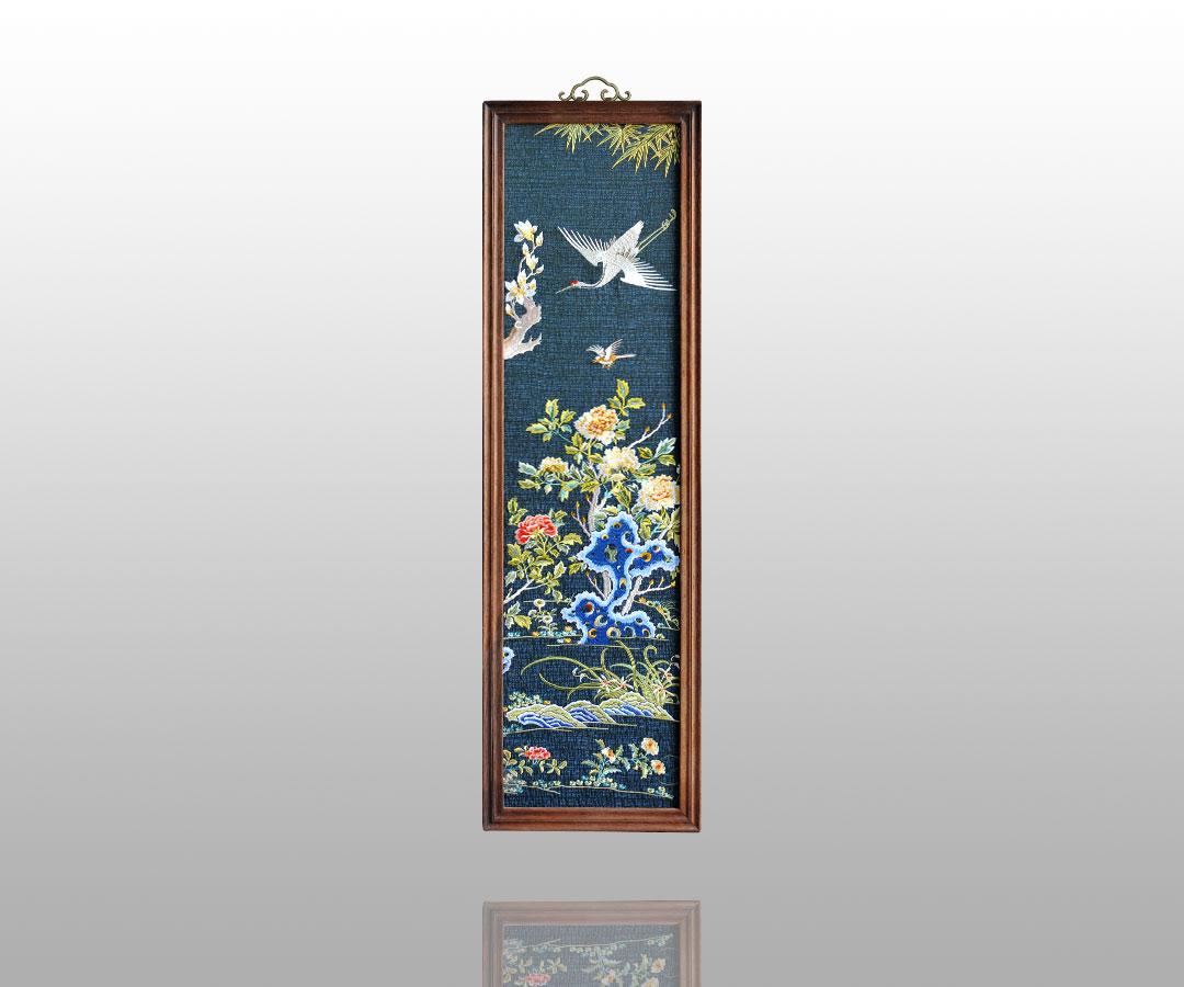 古朴典雅的刺绣挂屏    10 - h_x_y_123456 - 何晓昱的文化艺术博客