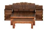 夔纹高低床+玉宝珠纹尾凳