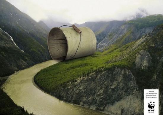 环保创意公益海报_海报设计欣赏