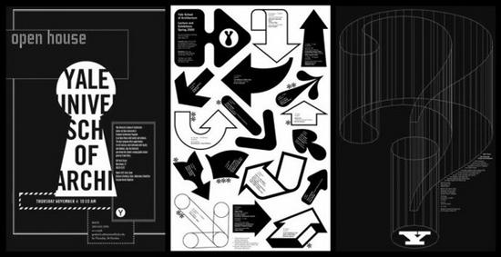 耶鲁大学建筑学院特色海报设计(3)