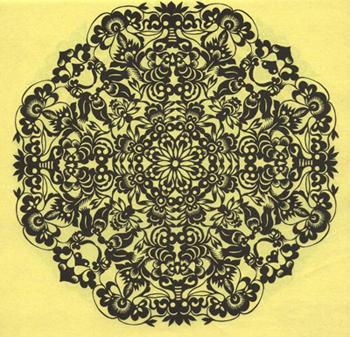 陕西团花剪纸艺术的魅力(3)