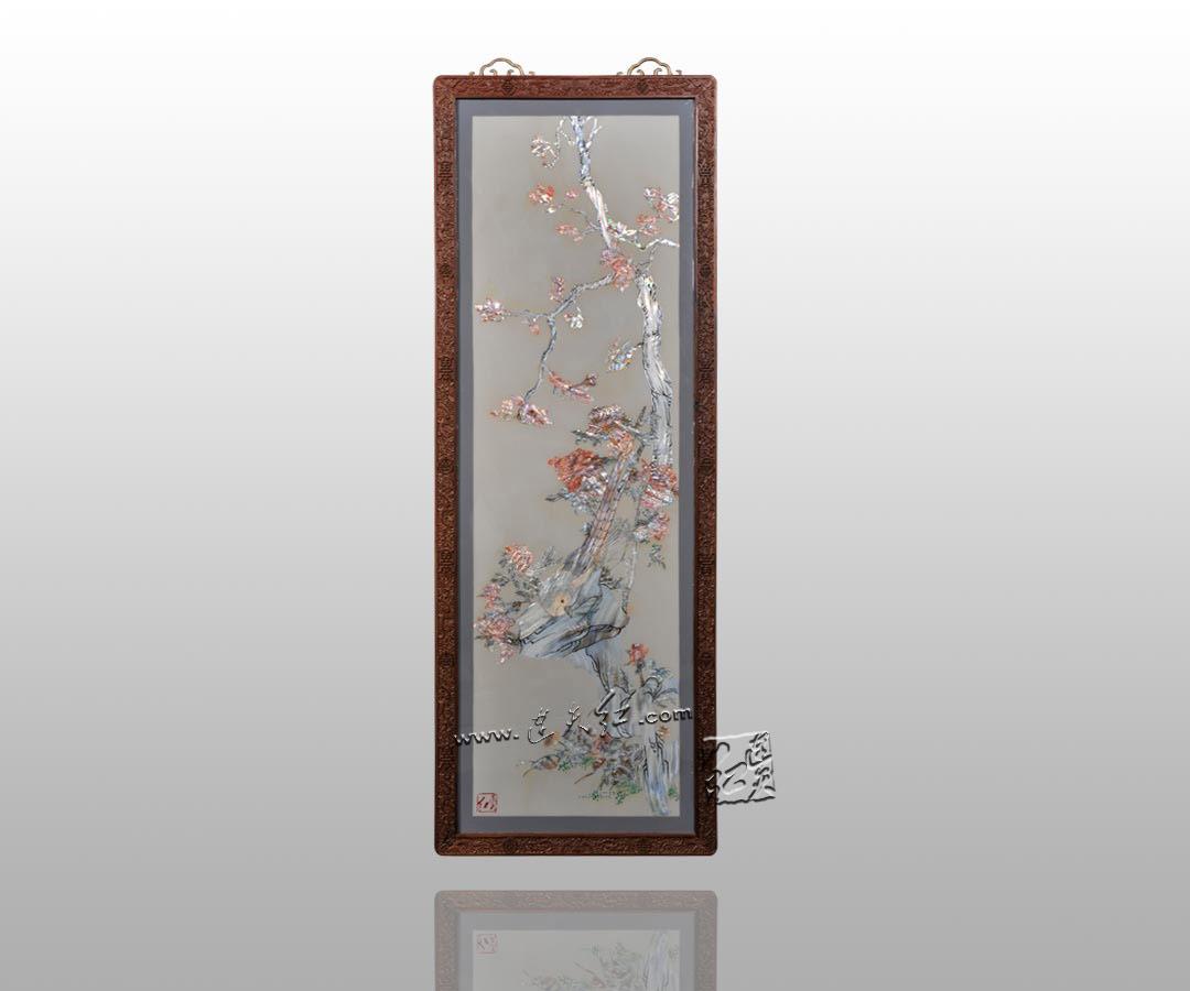 精致的螺钿挂屏    2 - h_x_y_123456 - 何晓昱的文化艺术博客