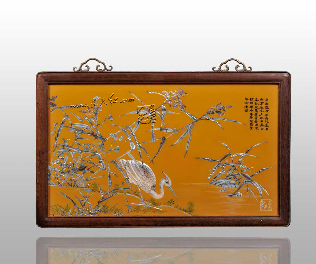 精致的螺钿挂屏    3 - h_x_y_123456 - 何晓昱的文化艺术博客