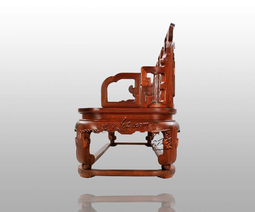 福庆纹三人扶手椅