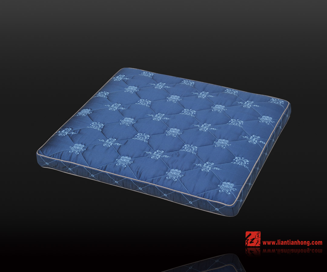 欧式蓝色花纹布艺贴图素材