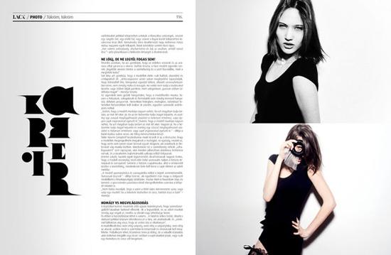 magazine画册排版设计作品