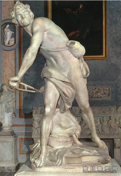 大卫像 贝尼尼 雕塑 家具有限图片