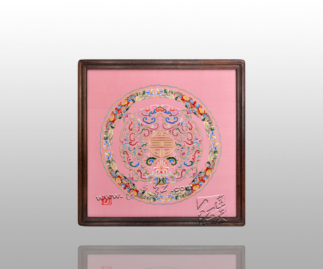 古朴典雅的刺绣挂屏    22 - h_x_y_123456 - 何晓昱的文化艺术博客