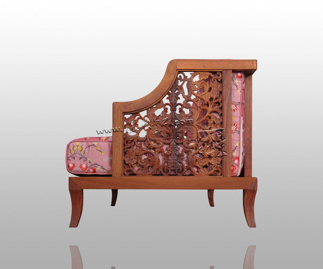 花影三人椅
