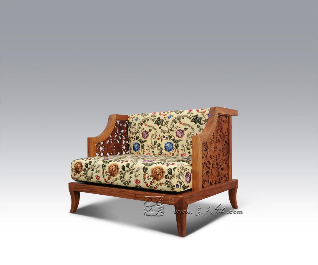 花影单人椅