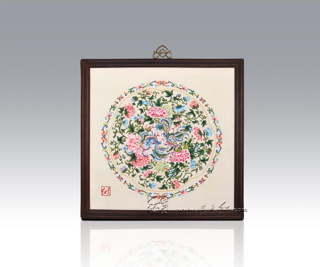 古朴典雅的刺绣挂屏    23 - h_x_y_123456 - 何晓昱的文化艺术博客