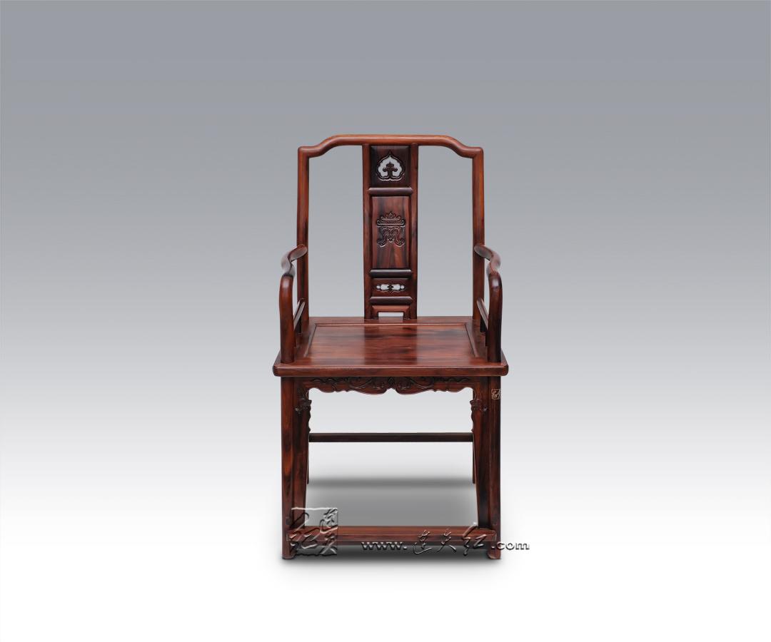 寿字南官帽椅