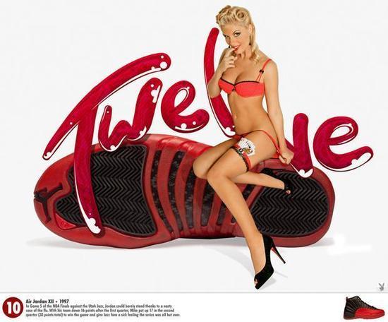 组图:乔丹球鞋精美宣传海报 令黑丝美女欲罢不能