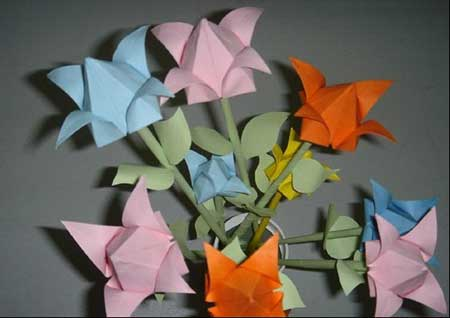 纸花折法_