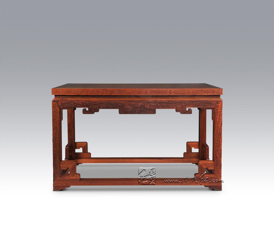 梨花木条桌