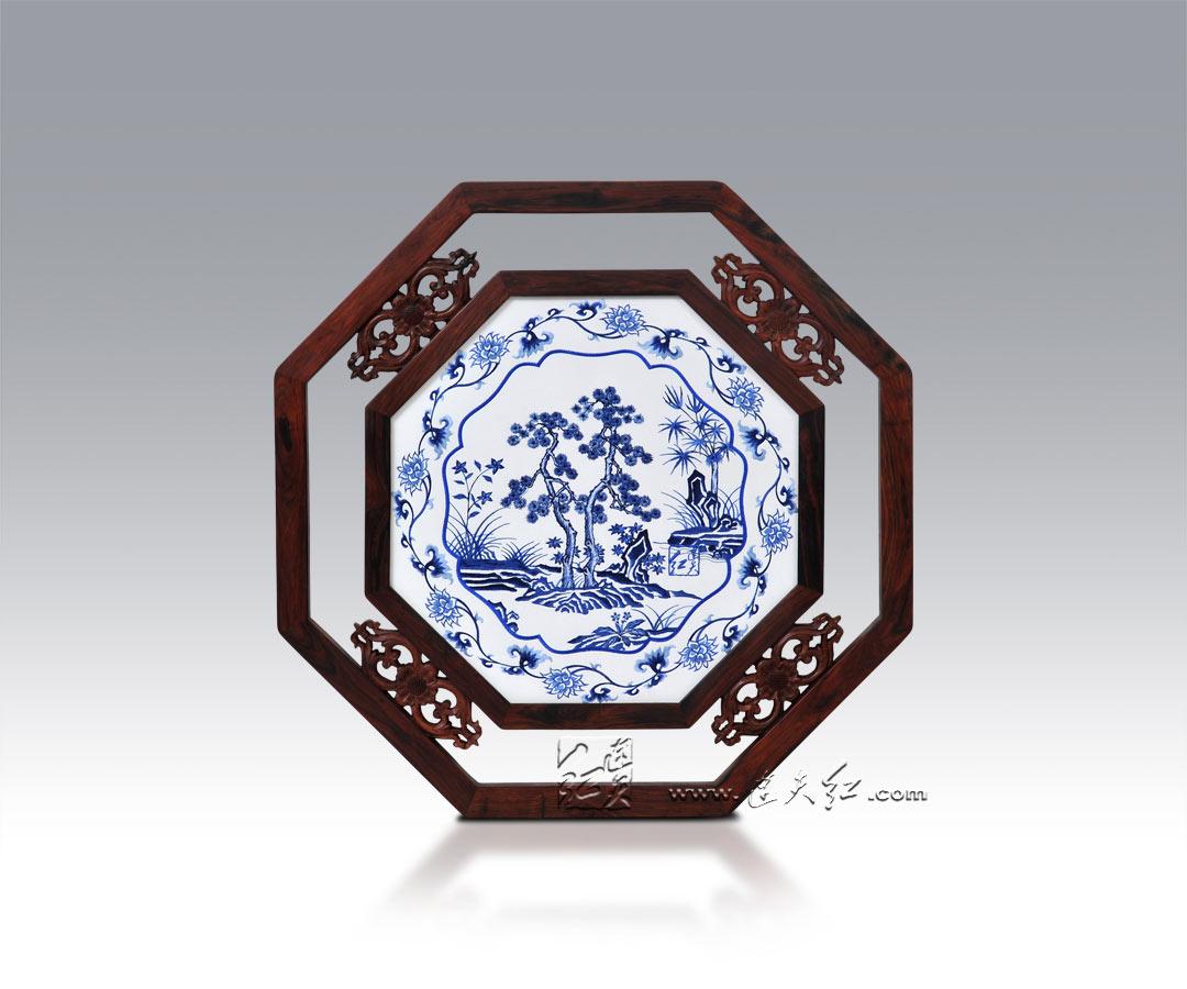 古朴典雅的刺绣挂屏    24 - h_x_y_123456 - 何晓昱的文化艺术博客