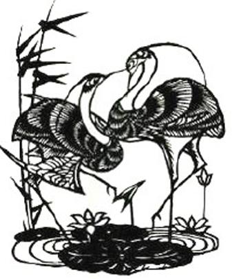 阜阳剪纸装饰纹样上的特征